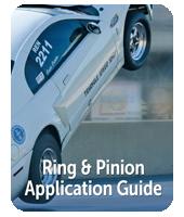 Guía de aplicación de vehículo de anillo y piñón
